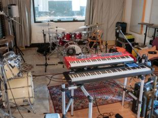 Der Band Proberaum in Köln