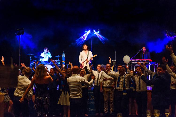Show Band bei der WM 2016