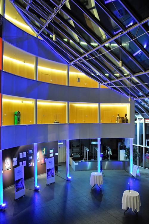 Foyer des Schokoladenmuseums in Köln