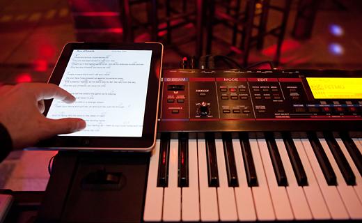 Unsere Live Musik Apps auf dem IPad
