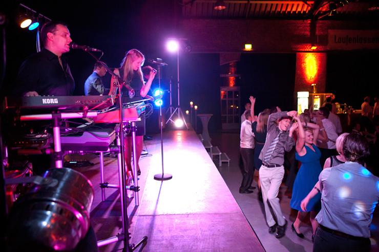 Partymusik in Schwerte mit unserer Band bei der Hochzeit