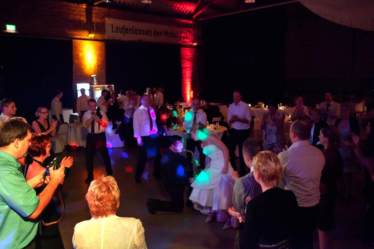 Hochzeitsfeier mit unserer Band in der Rohrmeisterei in Schwerte