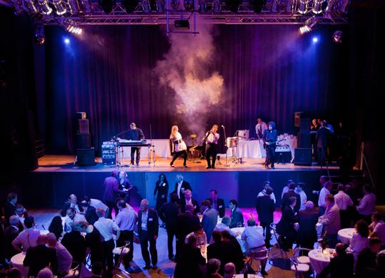 Das Casino der Zeche Carl in Essen mieten für Events, Musik und Bands