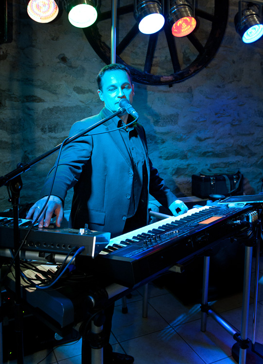 Keyboarder Dirk Baumbach