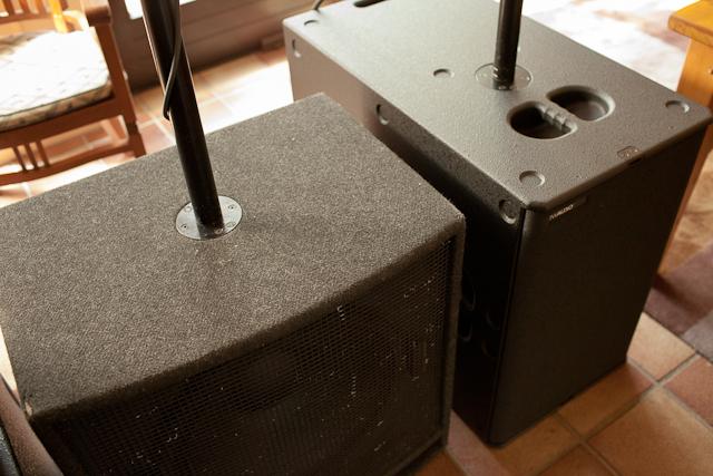 TW Audio Hybrid Bass doppel 15er