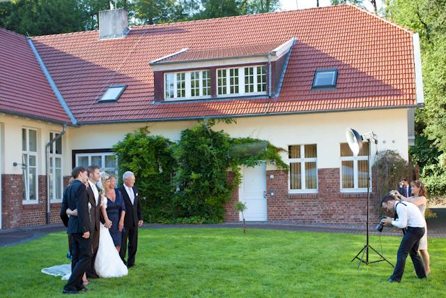 Christian Hembach fotografierte auf der Hochzeit