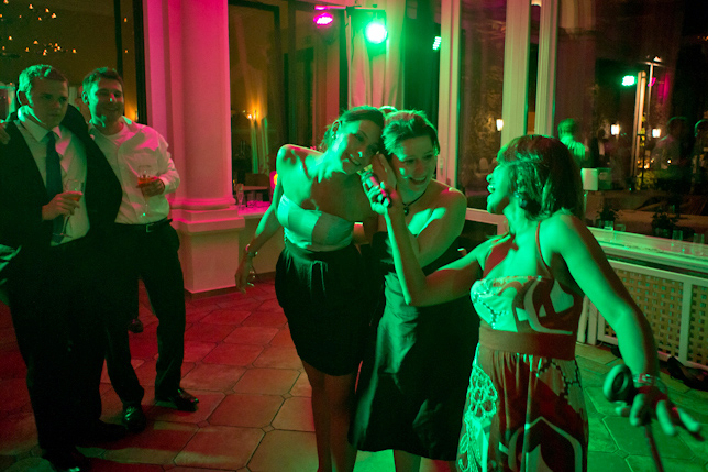 Unsere Sängerin Daisy bei der Hochzeit im Rheingau - Burg Schwarzenstein