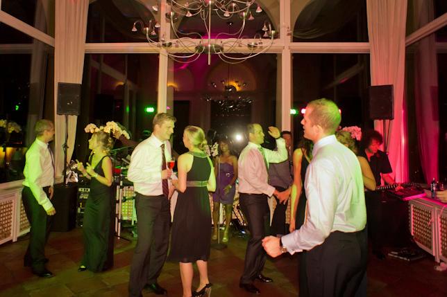 Die Party Tanzband für eine Hochzeit im Rheingau