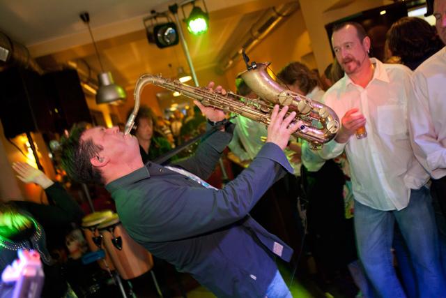 Geburtstagsfeier in Bochum mit Live Musik