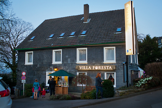 Restaurant Villa Foresta in Wuppertal