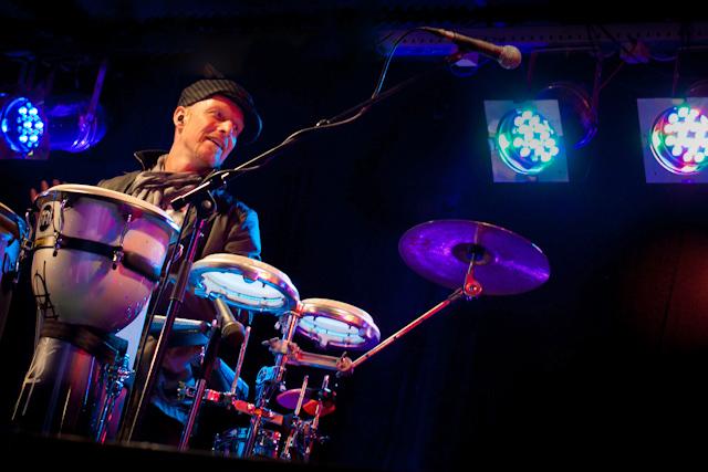 Percussionist Roland Peil