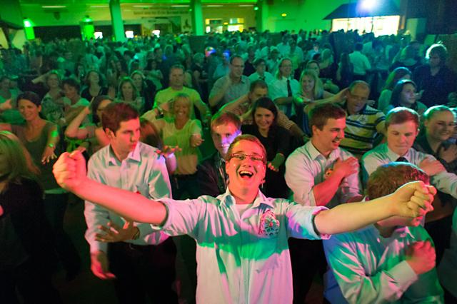 Eine Party feiern im Sauerland