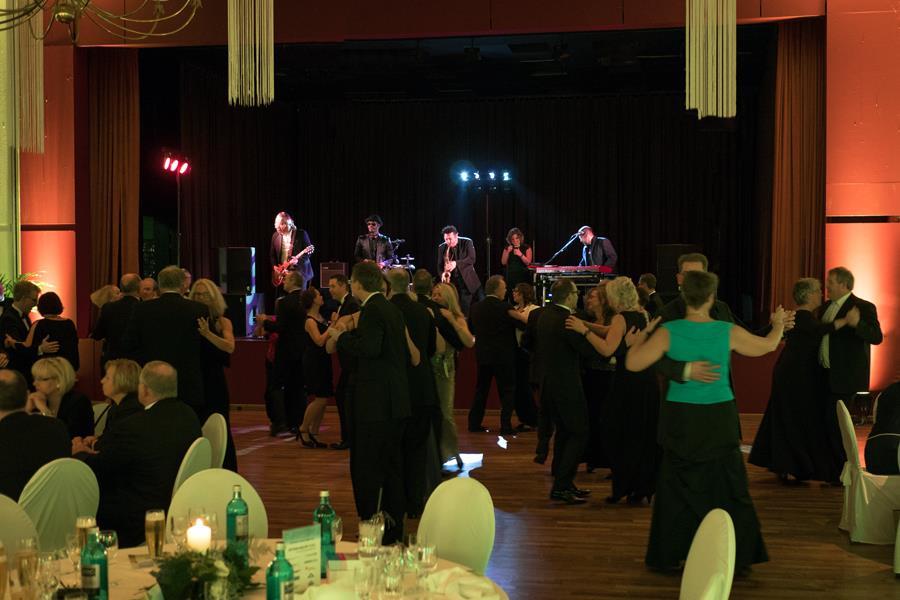 Gala Musik beim Ball der Wirtschaft in Wittmund