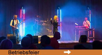 Live Band für Betriebsfeier Firmenfeier mieten