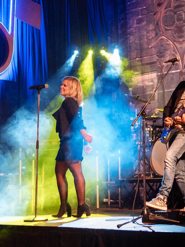 Unsere Band live bei einer Party in Bonn