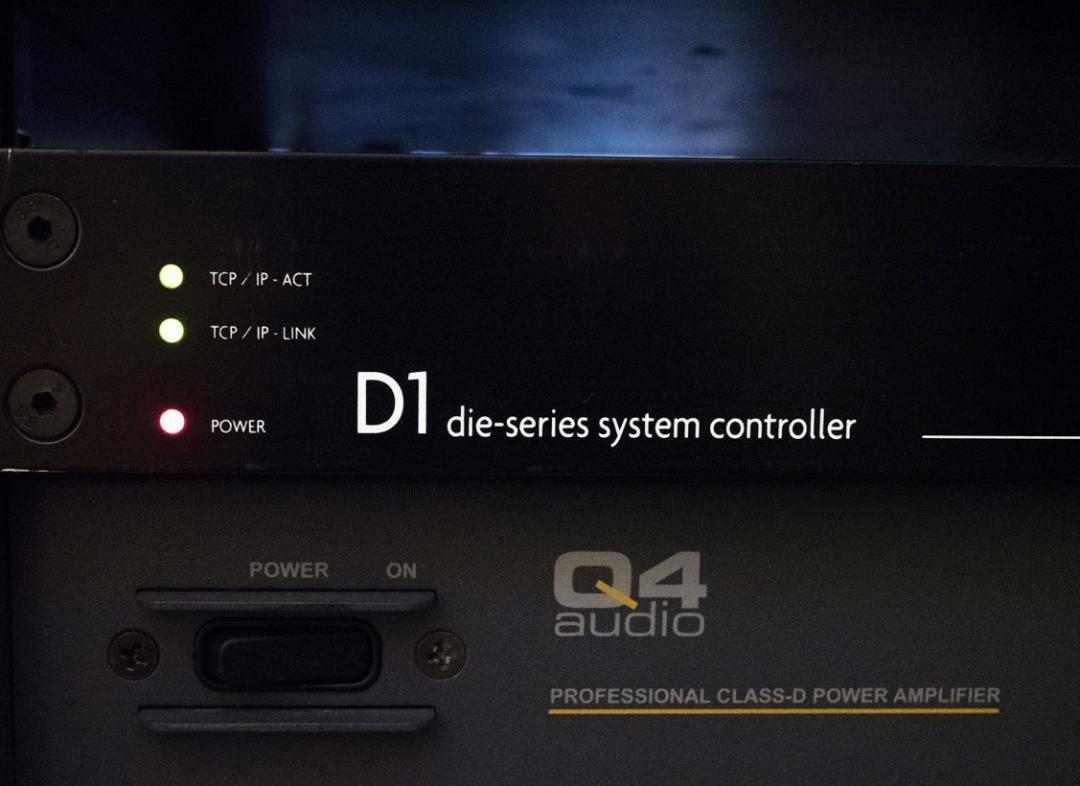 Der Cadenbach Akustik Kontroller. D1 System controller