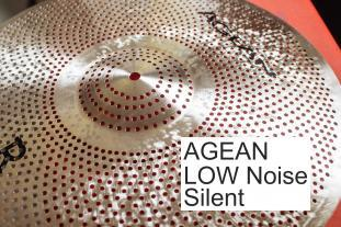 Agean Cymbals Low Noise silent Ride