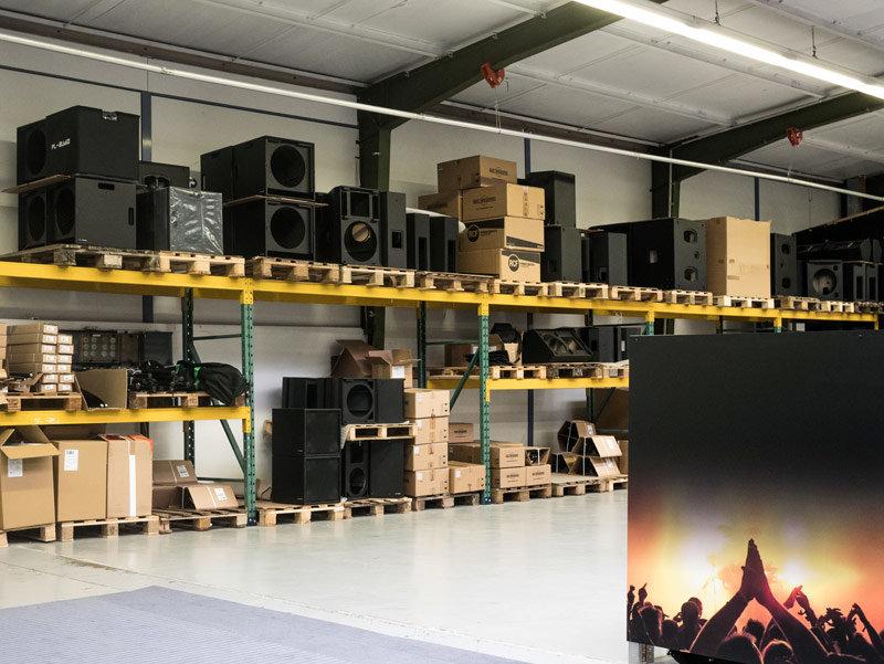PL Audio Werksfoto aus der Firma in Wenden, Germany.