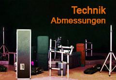 Tontechnik und Veranstaltungstechnik mieten