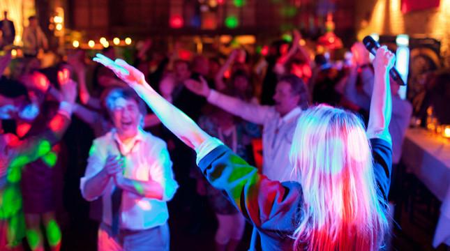 Partymusik Band eine junge Partyand . live foto