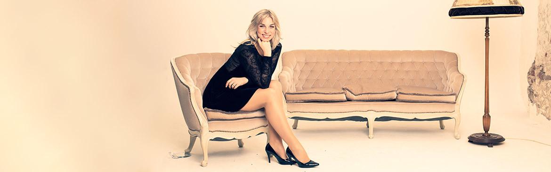 Sängerin Chantal - Slider