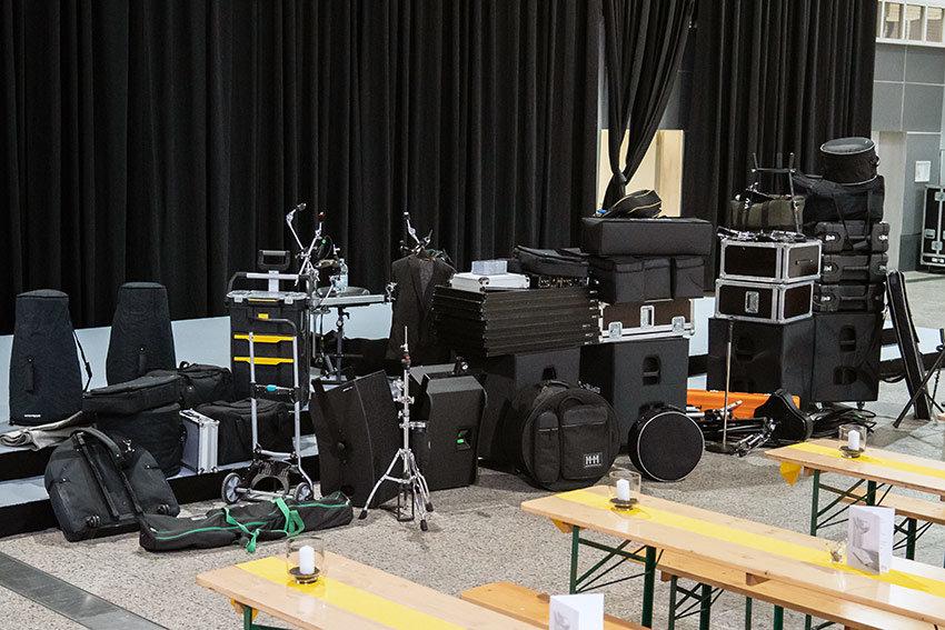Band Veranstaltungstechnik in Dortmund, für Messe Veranstaltung und Events.
