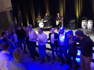 Unsere Live Band mit Publikum beim Messe Event in Dortmund.