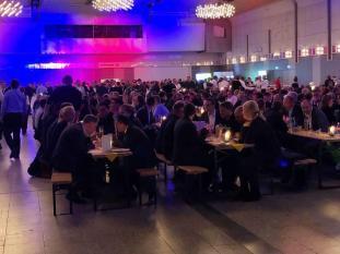 Über 600 Gäste sind zur Messe Veranstaltung in Dortmund gekommen.