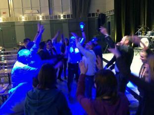 Wir feiern in der Messe Halle 2, in Dortmund.
