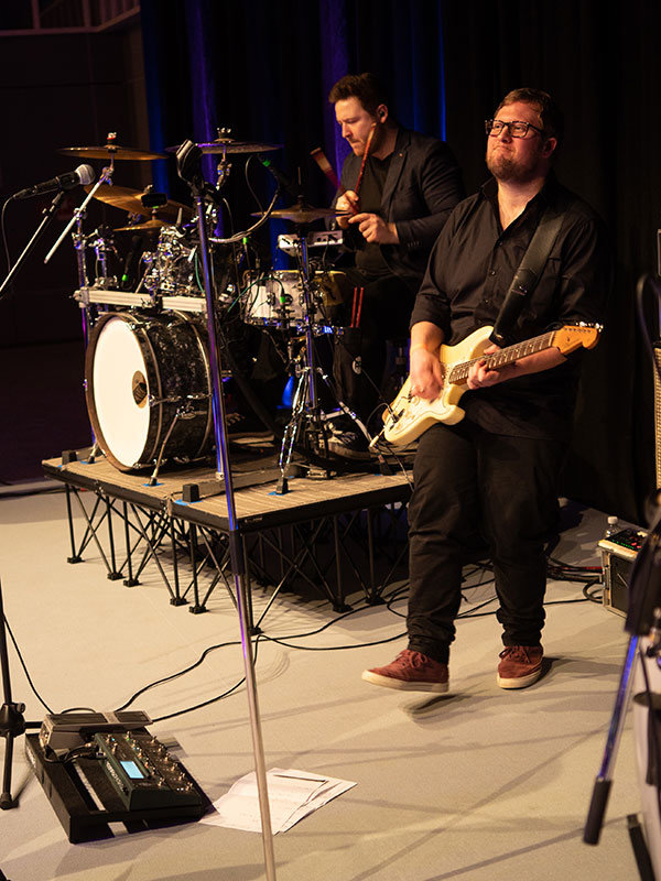 Top40 Cover Musik Band beim Auftritt in Dortmund.