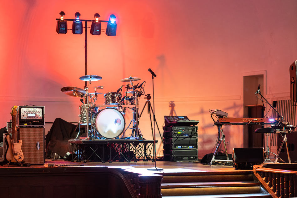 Die Bühne im Stadtwaldhaus
