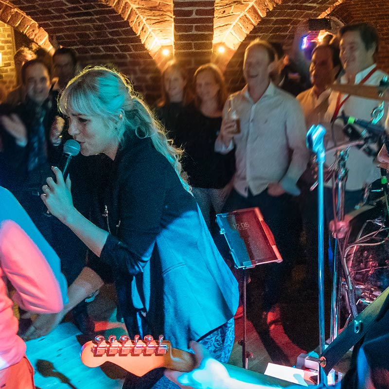 Band Sängerin Schloss Velen