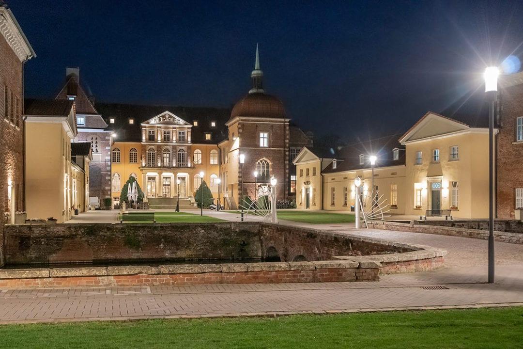 Das Wasserschloss in Velen.