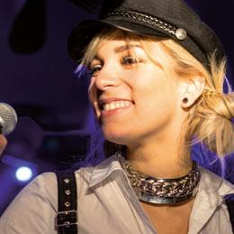 Foto der Sängerin Chantal