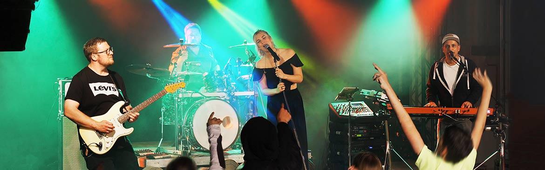Partyband und Tanzband in einem, die Band aus Köln.
