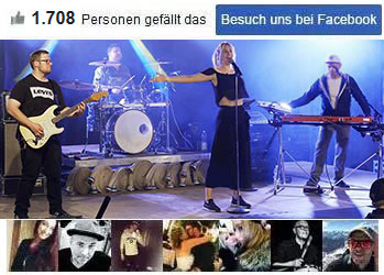 Unsere Band bei Facebook